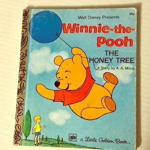 Vintage 1977 Winnie The Pooh book